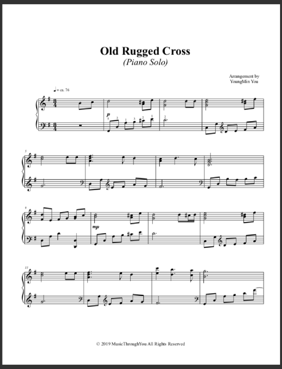 Old Rugged Cross Screenshot